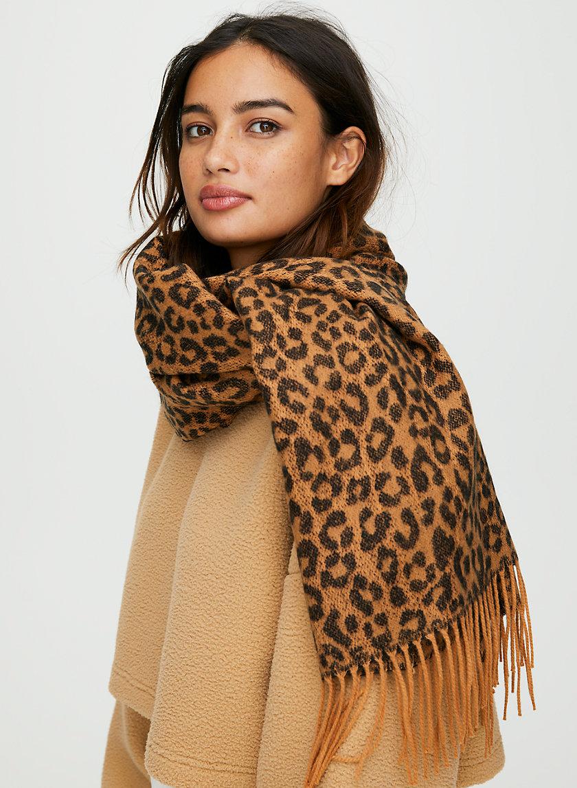 LAUREN FRINGE SCARF - Classic fringe scarf