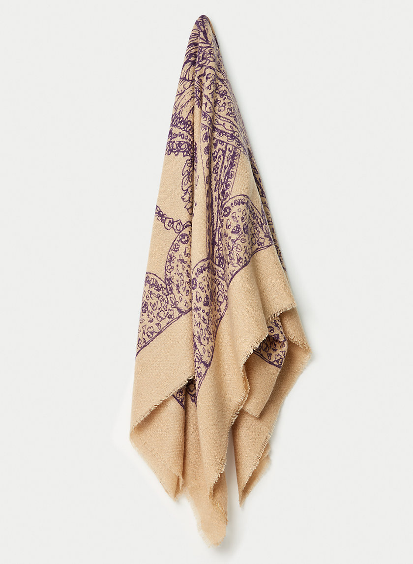 BEX SCARF - Paisley print scarf