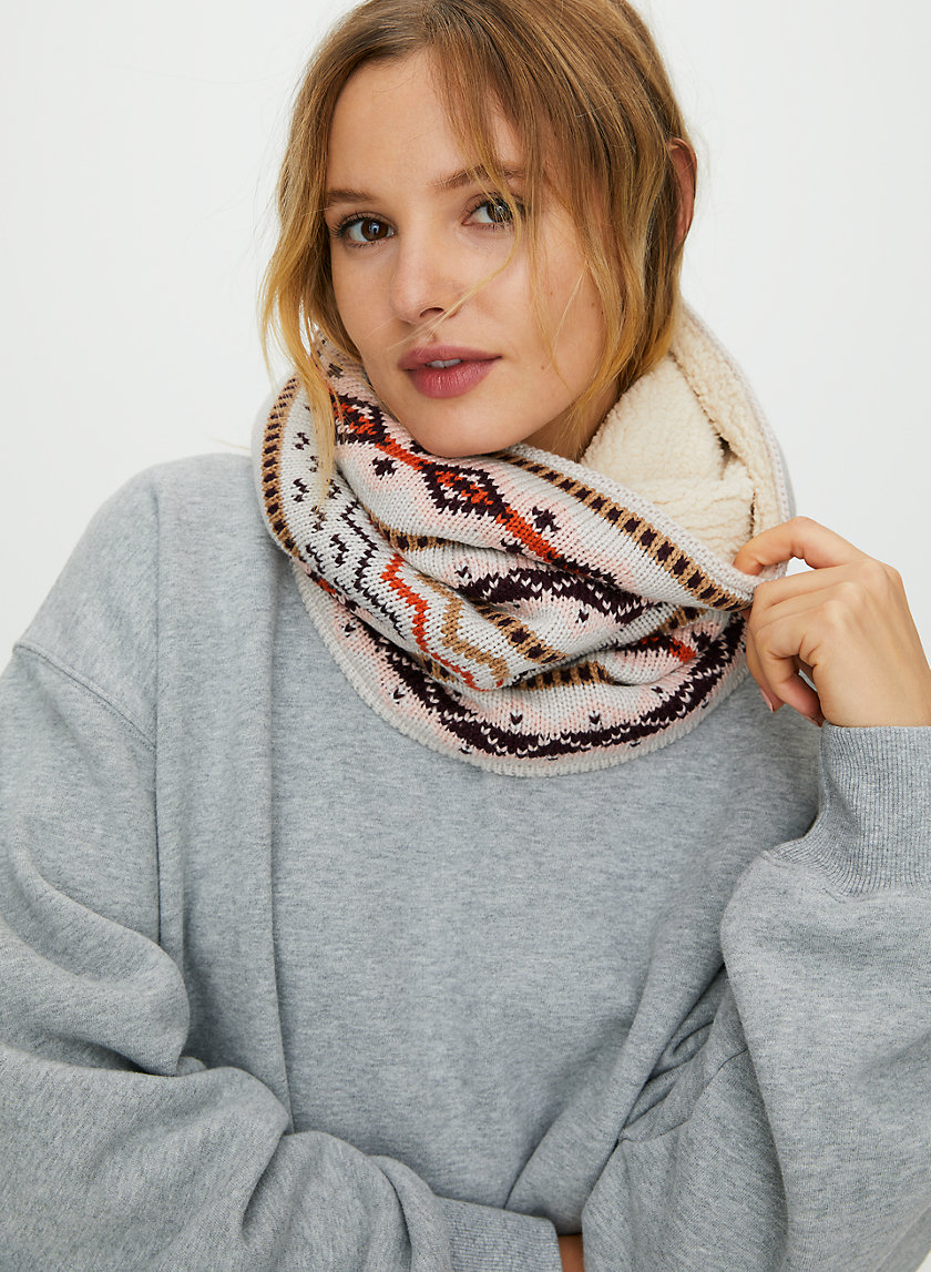 FIFI SCARF - Lined neck warmer