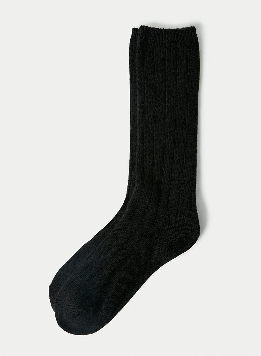 COZY RIBBED SOCK - Long ribbed socks
