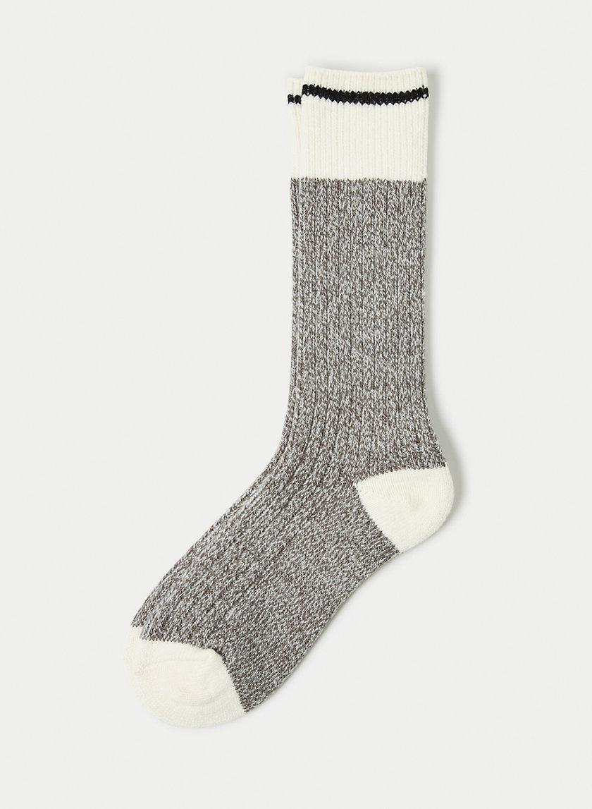 COZY CAMP SOCK - Cozy knit socks