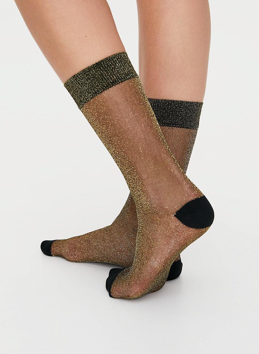 ADDIE SOCK 2 PACK - Sheer ankle sock