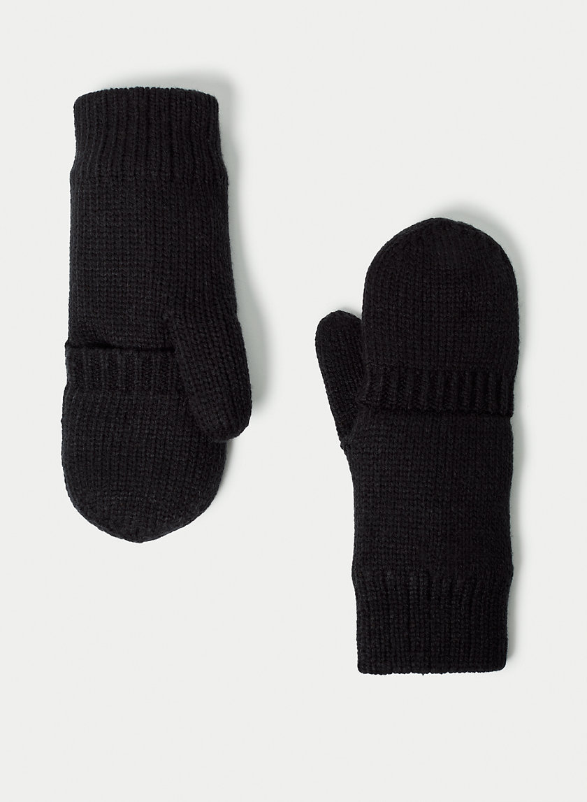 JANIE GLOVE - Fold-over, fleece-lined mittens