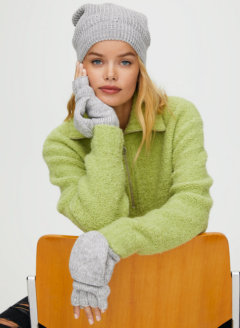 JANIE GLOVE - Fold-over, fleece-lined mittens