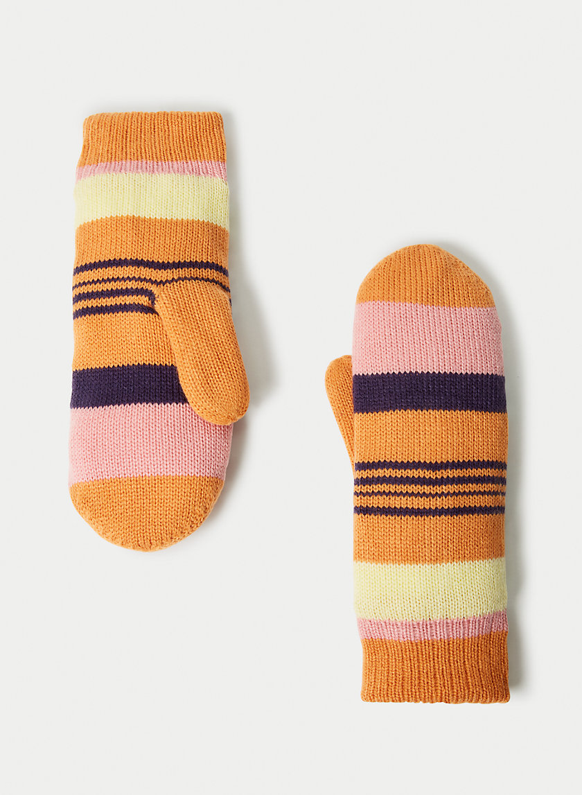 LOLO MITTEN - Knit lined mittens