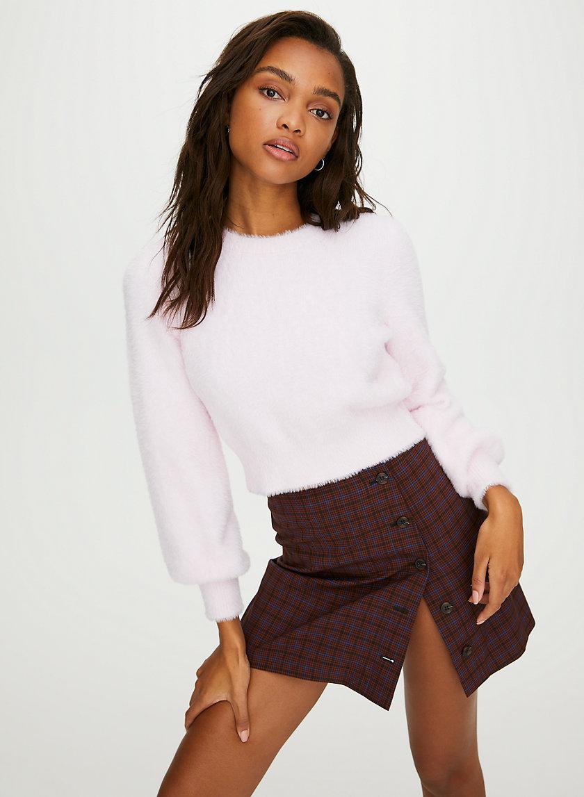 KITTEN SWEATER - Cropped, fuzzy sweater