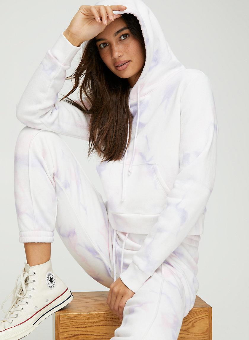 MONTOYA HOODIE - Cropped tie-dye hoodie