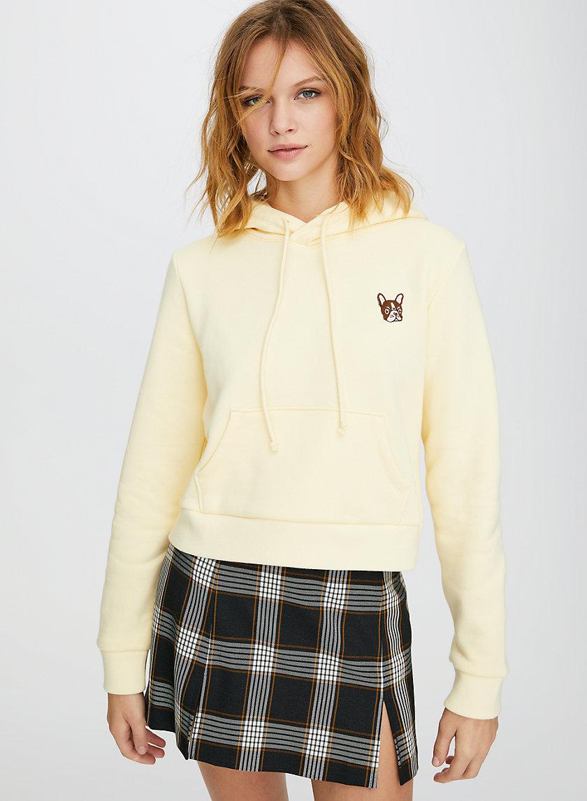 MONTOYA HOODIE - Cropped, pullover dog hoodie