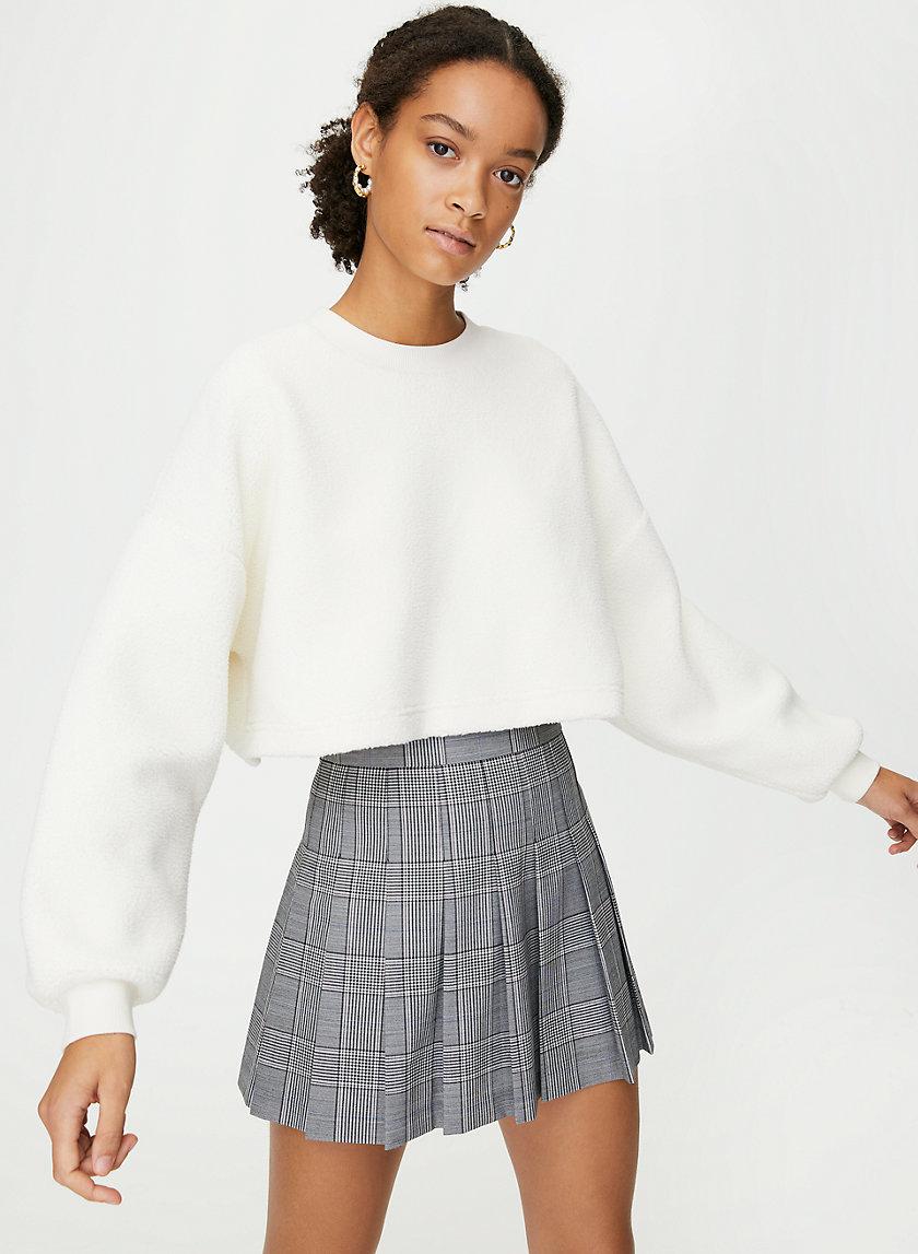 LUPA SWEATER - Cropped sherpa sweater
