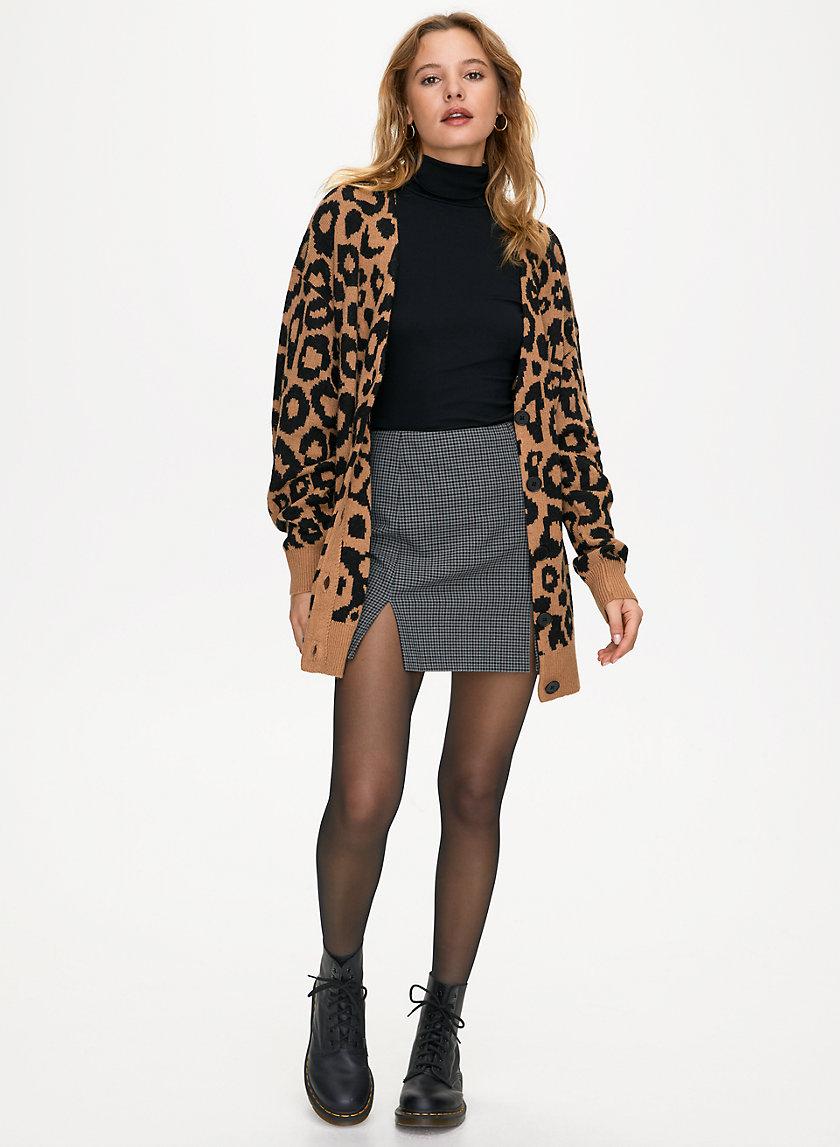 SYLVIA CARDIGAN - Button-up alpaca sweater