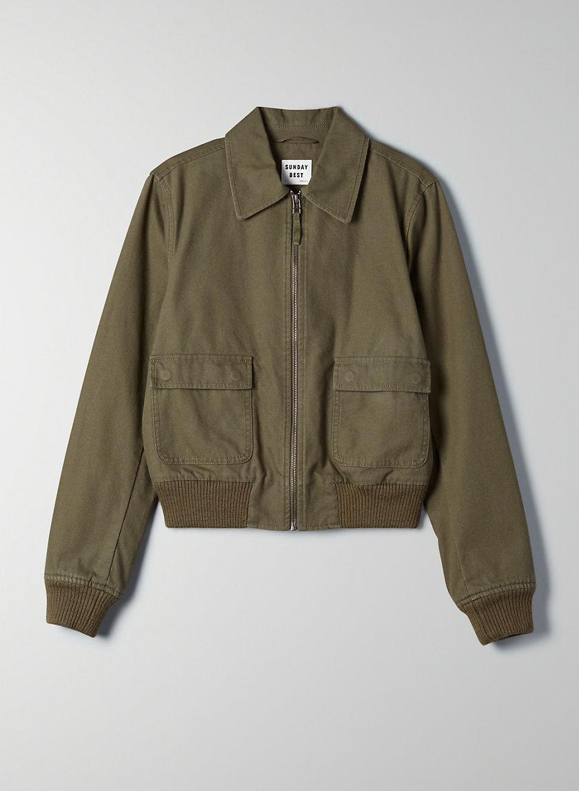 AINSLEY JACKET - Workwear bomber jacket