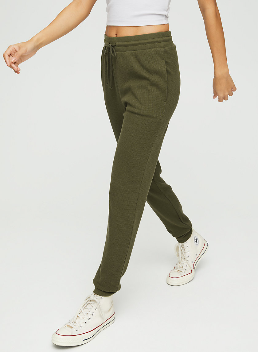 NICKLEBY PANT - Waffle knit joggers