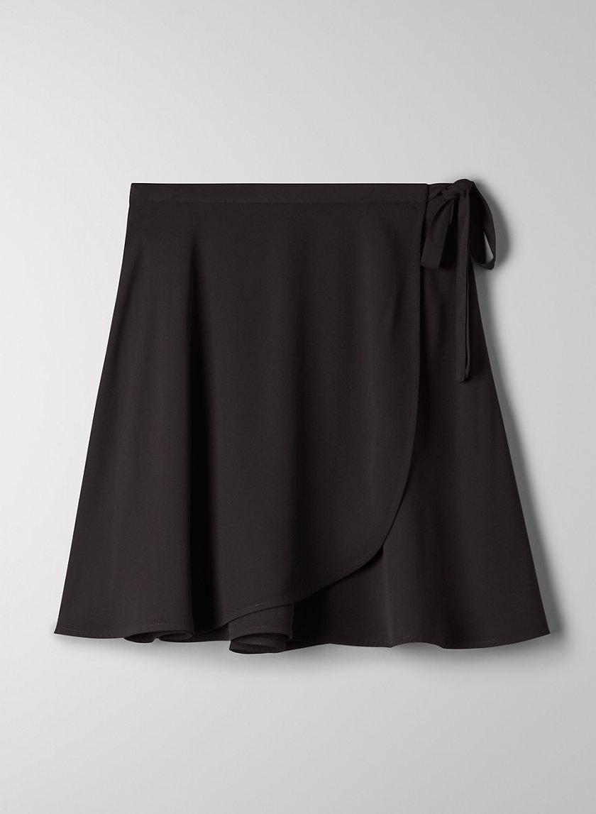 ARIEL SKIRT - Flowy, wrap mini skirt