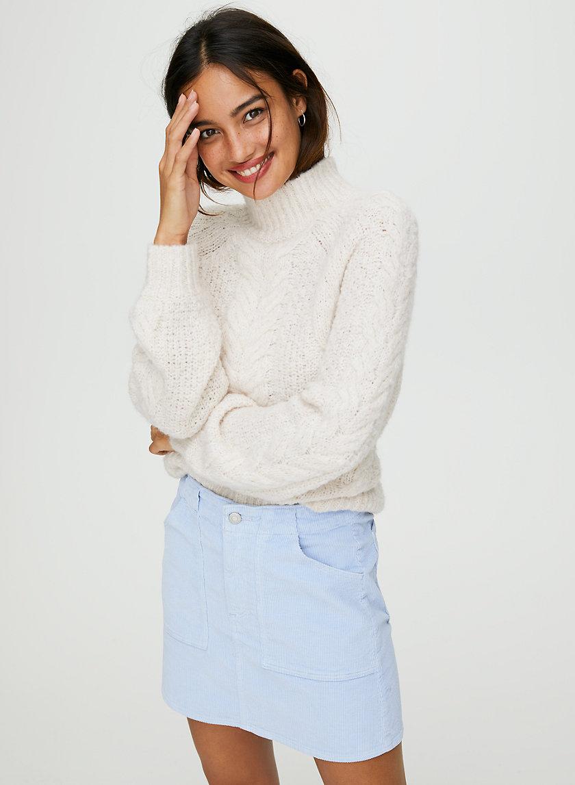 CORA SKIRT - Corduroy mini-skirt
