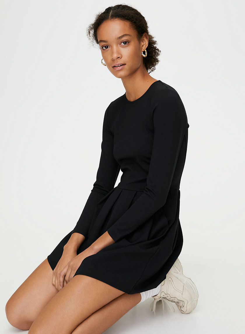 TARTINE DRESS - Pleated fit-and-flare dress
