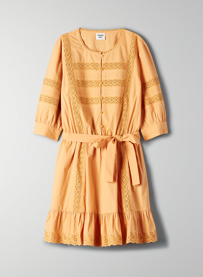 SORAYA DRESS - Bohemian mini dress