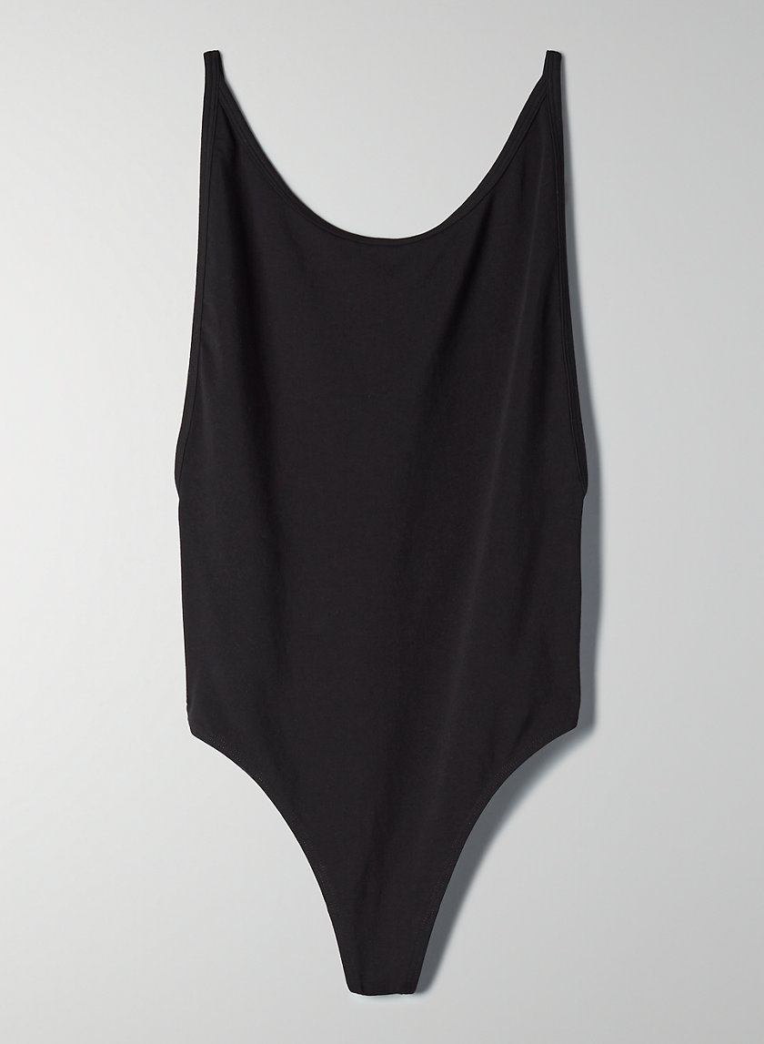 '90S COZUMEL BODYSUIT - Open-back, thong bodysuit