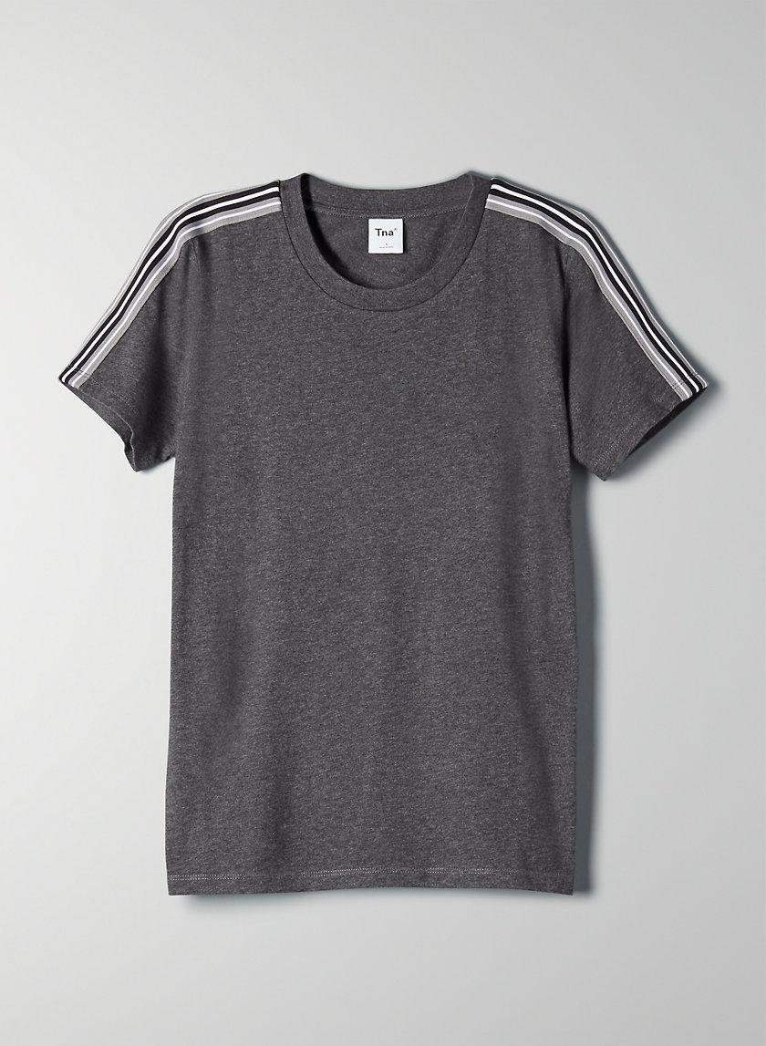 MAINLAND T-SHIRT - '90s, side-stripe t-shirt