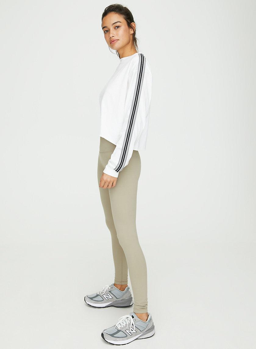 AGDEN T-SHIRT - Cropped, long-sleeve t-shirt