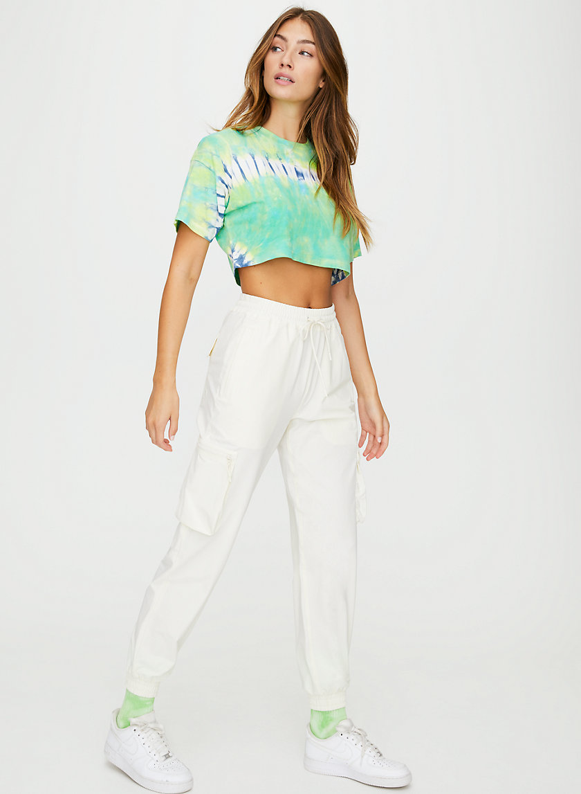 DITMAS CROPPED TOP - Cropped tie-dye t-shirt