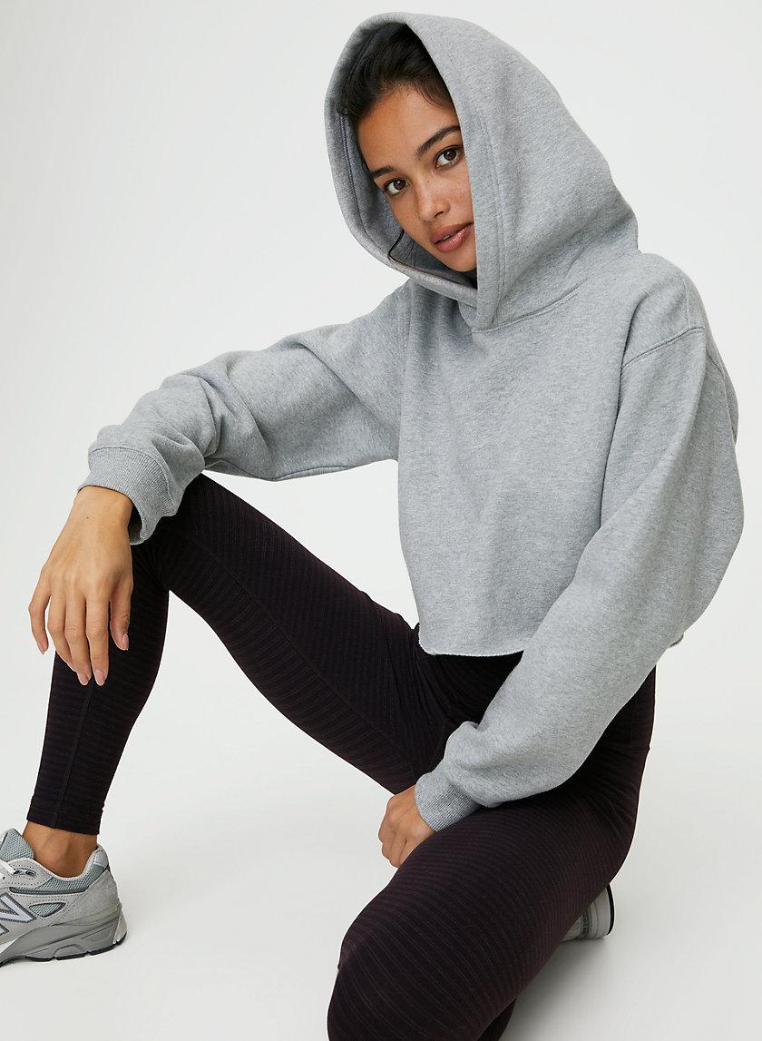PERFECT HOODIE CROP - Cropped, pullover hoodie