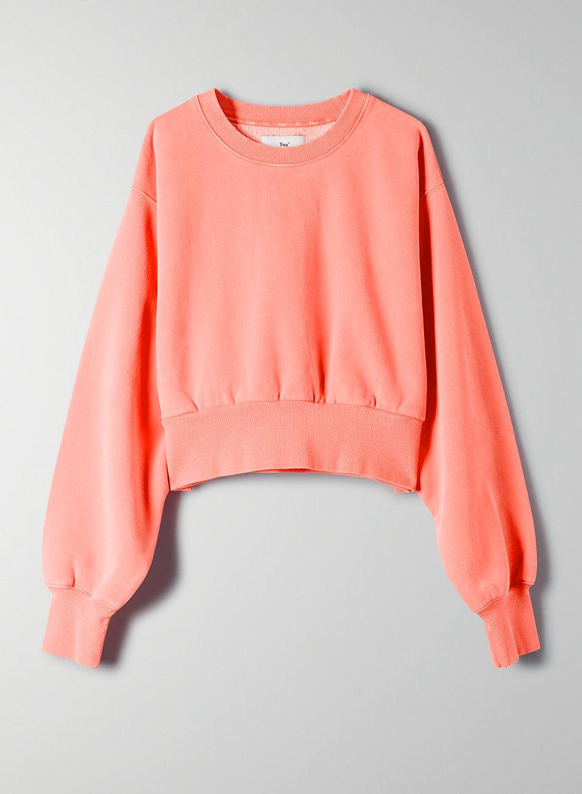 PERKINS SWEATSHIRT - Cropped crew-neck sweatshirt
