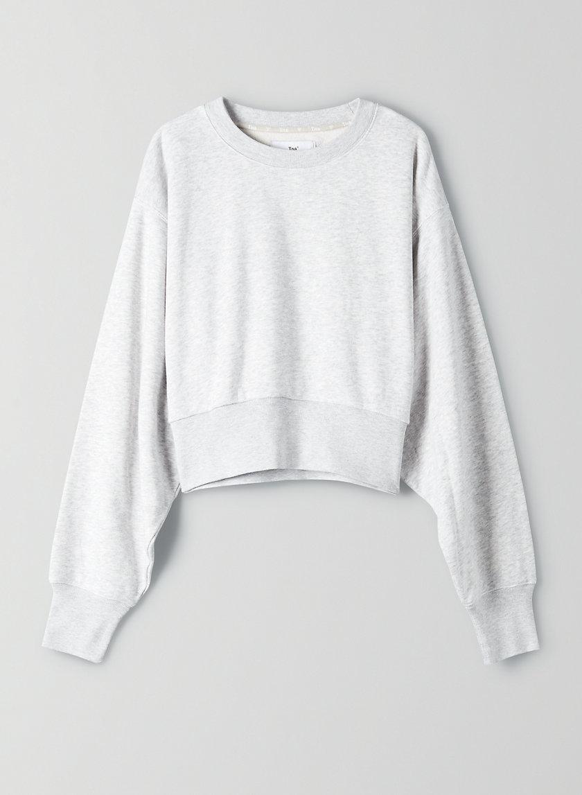 PERKINS LIGHT SWEATSHIRT - Cropped dolman sweatshirt