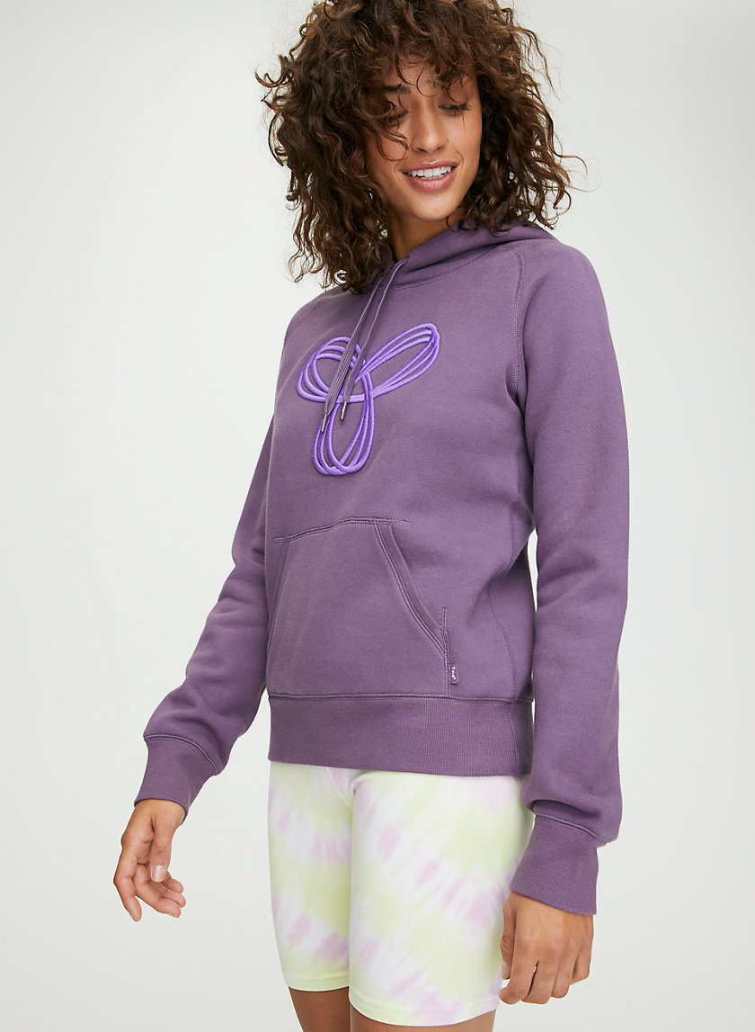 BALTIC HOODIE - Embroidered pullover hoodie