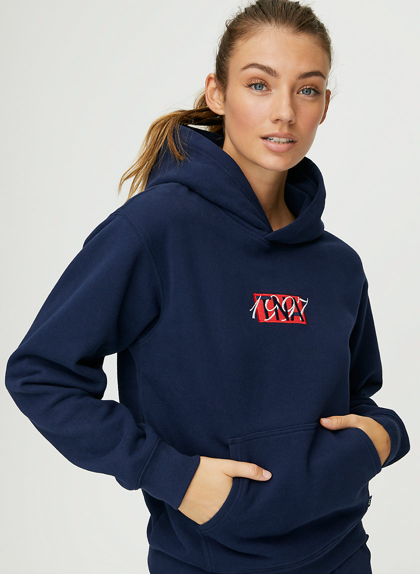 THE PERFECT HOODIE - Embroidered logo hoodie