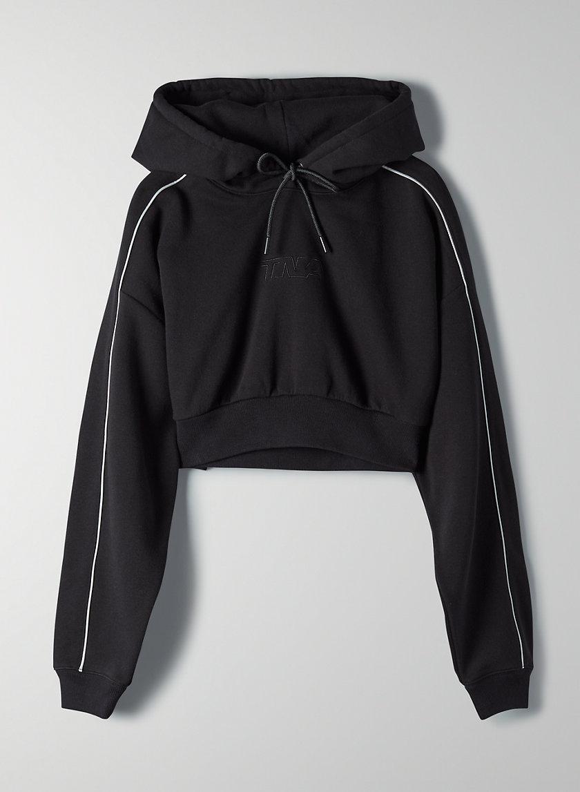 THE SUPER CROP HOODIE - Super-cropped hoodie