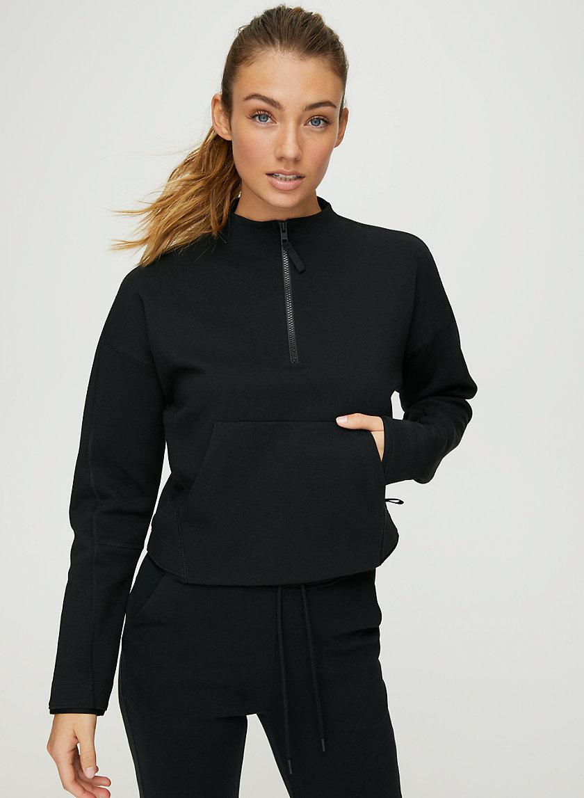 SILVER LAKE SWEATER - Longsleeve fleece sweater