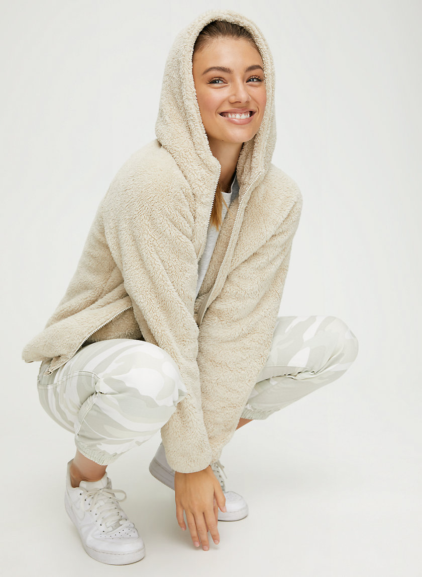 FUZZY ZIP UP - Fuzzy jacket