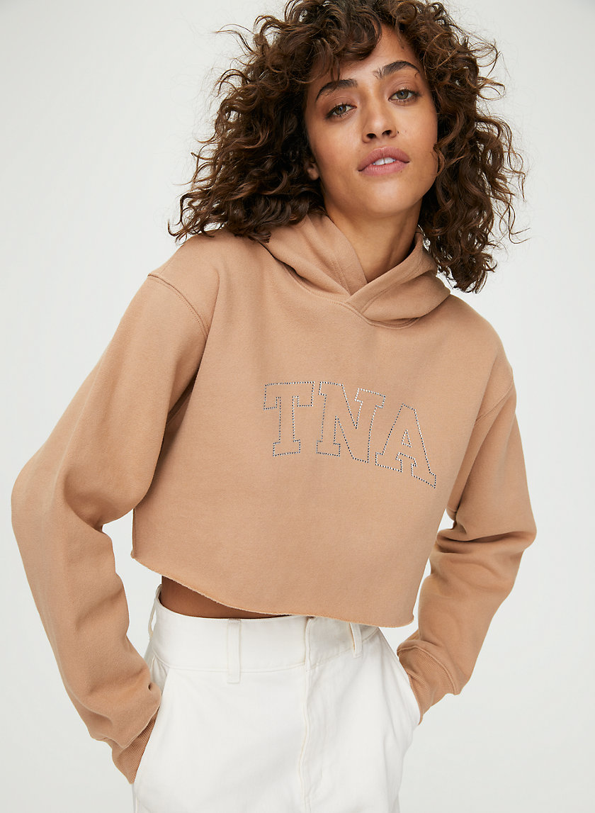 THE PERFECT CROPPED HOODIE - Cropped pullover hoodie
