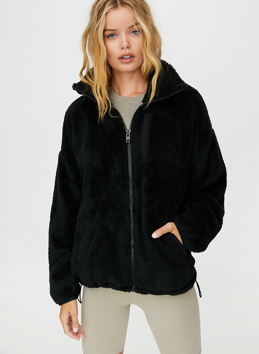 NEWPORT FUZZY ZIP-UP - Fleece zip-up