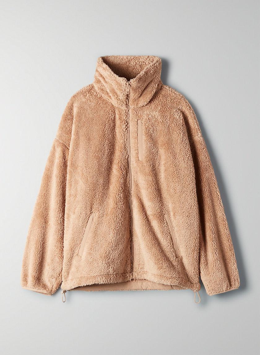NEWPORT FUZZY ZIP-UP - Fleece zip-up