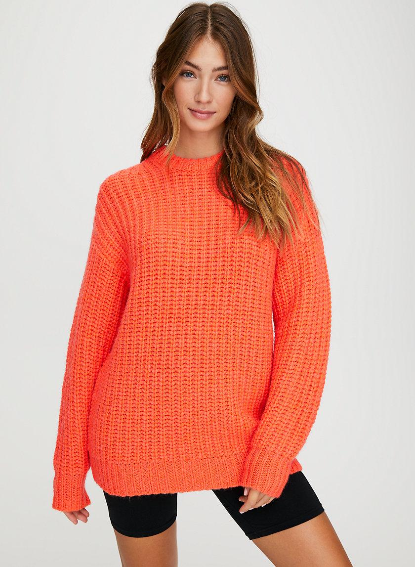 LAGUNA SWEATER - Chenille fisherman sweater