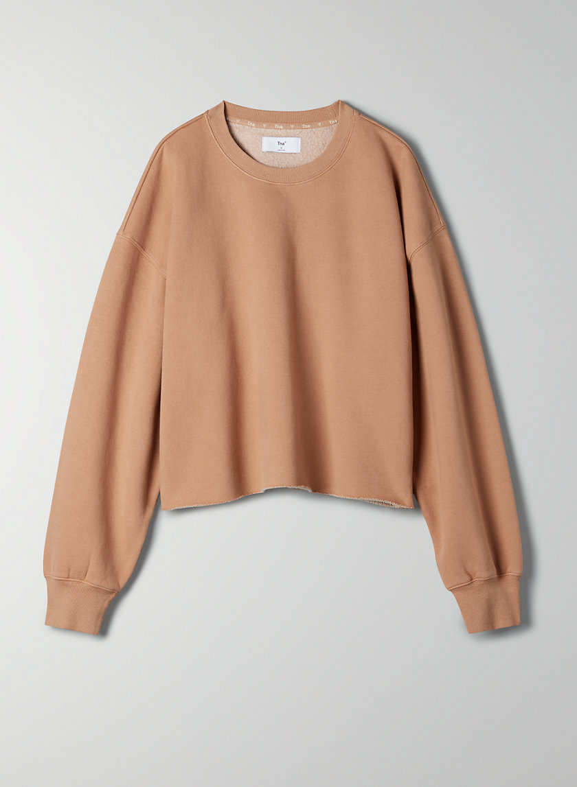 BOYFRIEND CREW - Cropped boyfriend sweatshirt