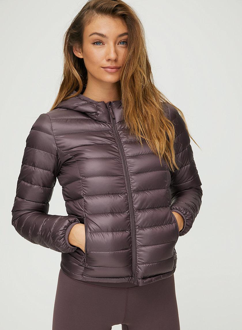 BOTANIE PUFFER - Packable, goose-down puffer jacket
