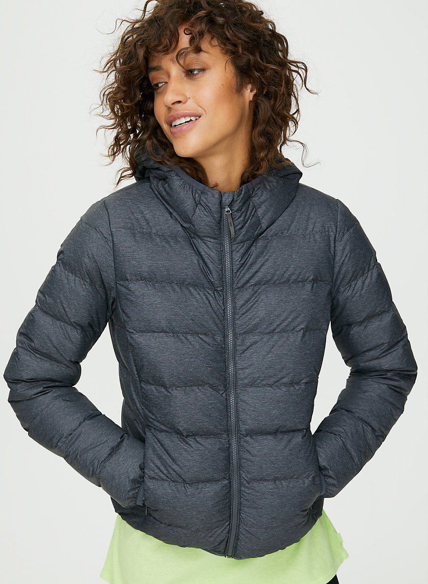 THE LITTLE PUFF - Packable, goose-down puffer jacket