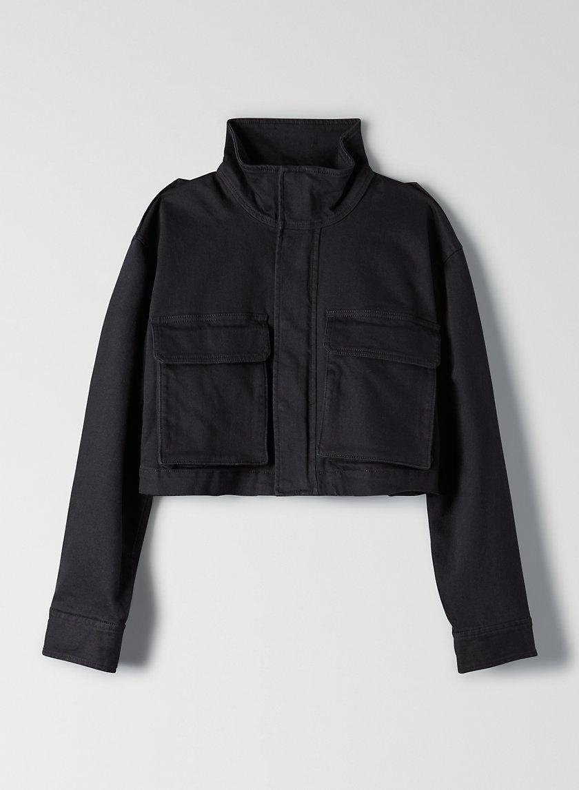 CROPPED WORKWEAR JACKET - Cropped utility jacket