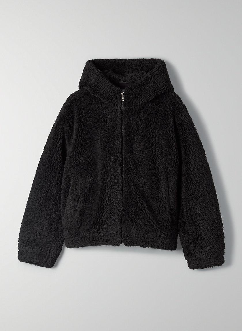 PALO ALTO TEDDY JACKET - Hooded teddy jacket