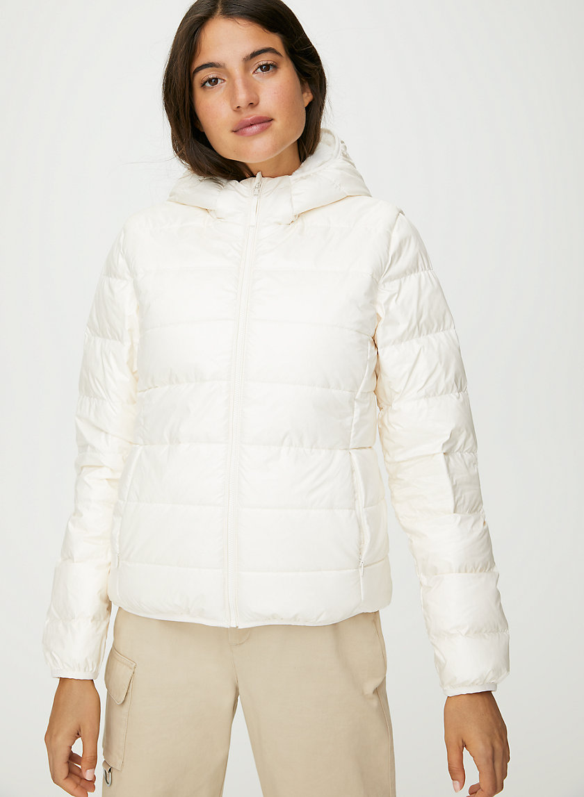 THE LITTLE FLUFFY PUFF - Lined goose-down puffer jacket