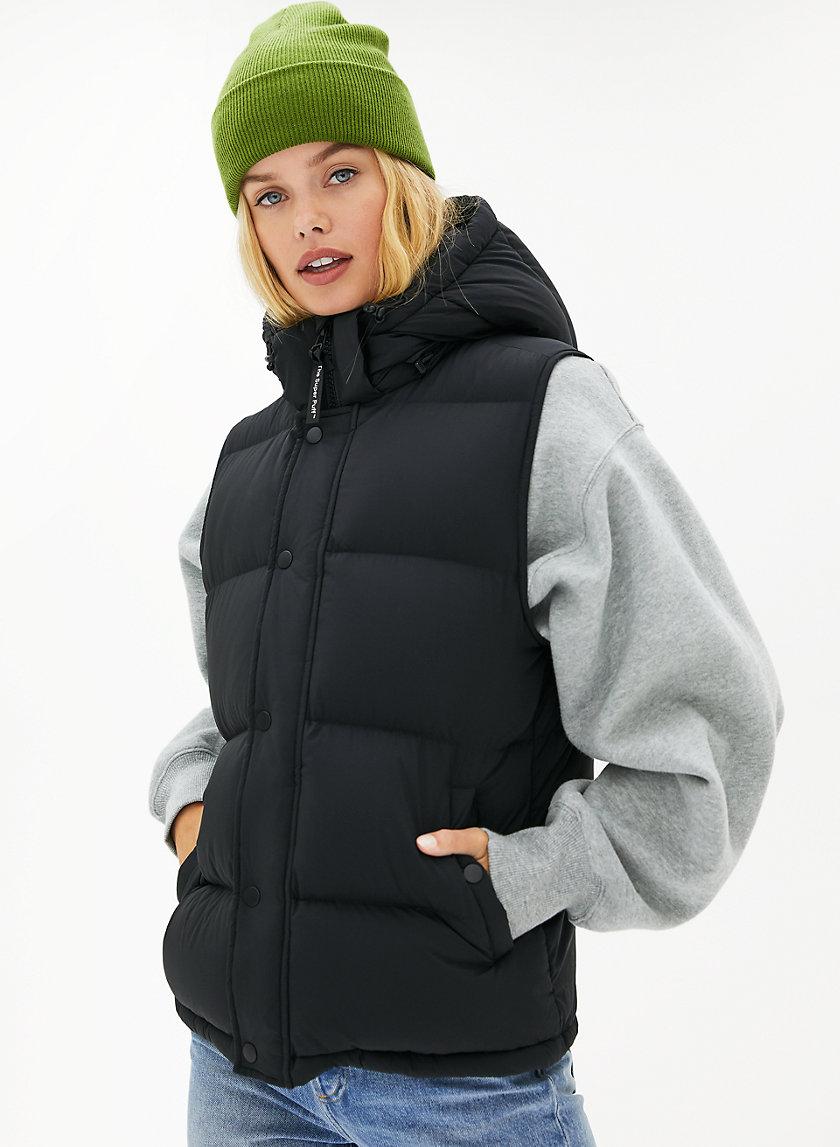 THE SUPER PUFF™ VEST - Goose-down puffer vest