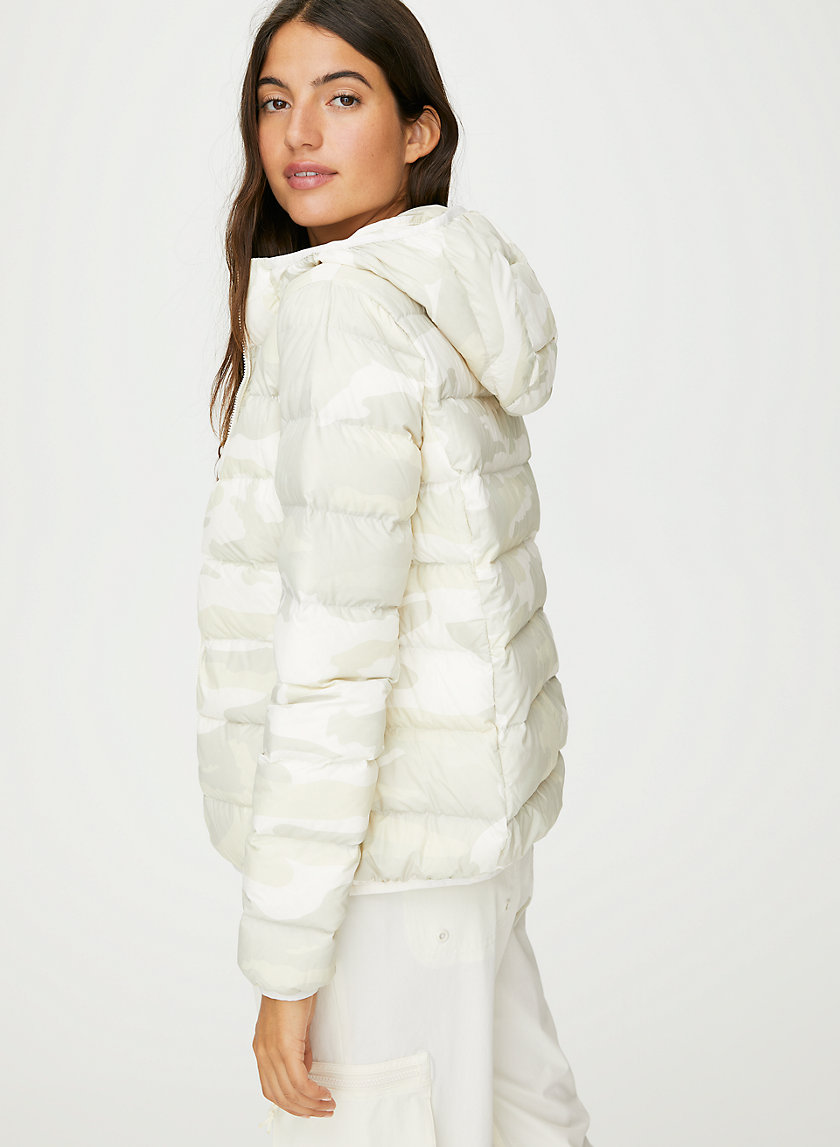 THE LITTLE PUFF - Camo goose-down puffer jacket