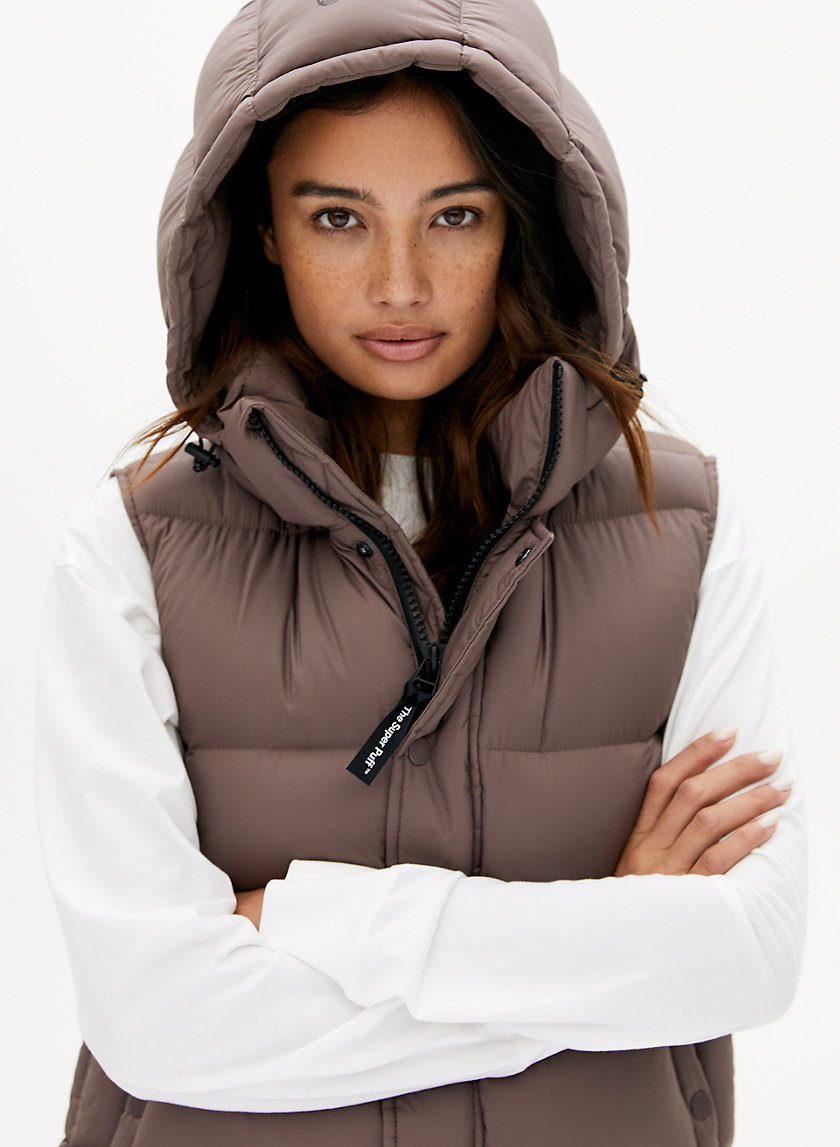THE SUPER PUFF™ VEST - Goose-down puffer vest