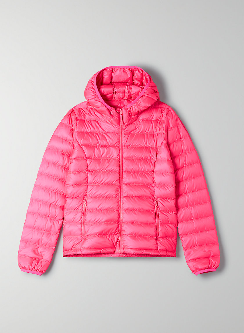BOTANIE PUFFER - Packable goose-down puffer jacket