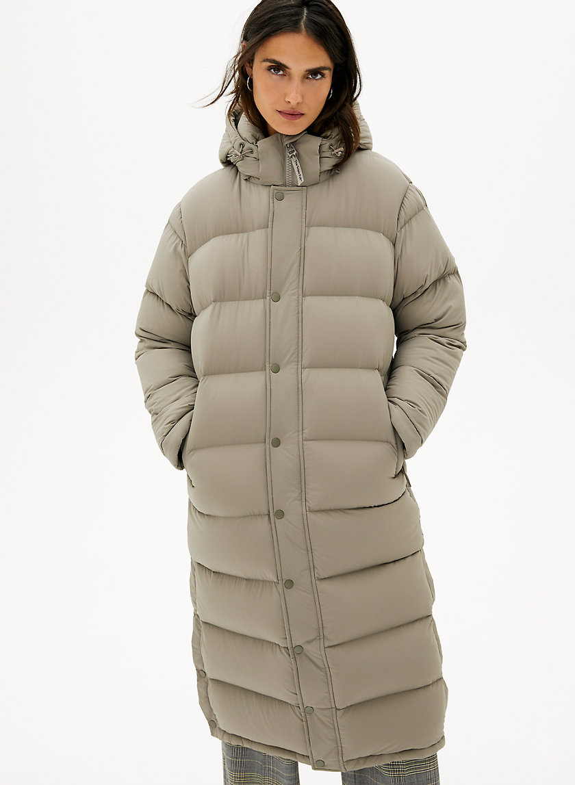 THE SUPER PUFF™ LONG - Goose-down puffer jacket
