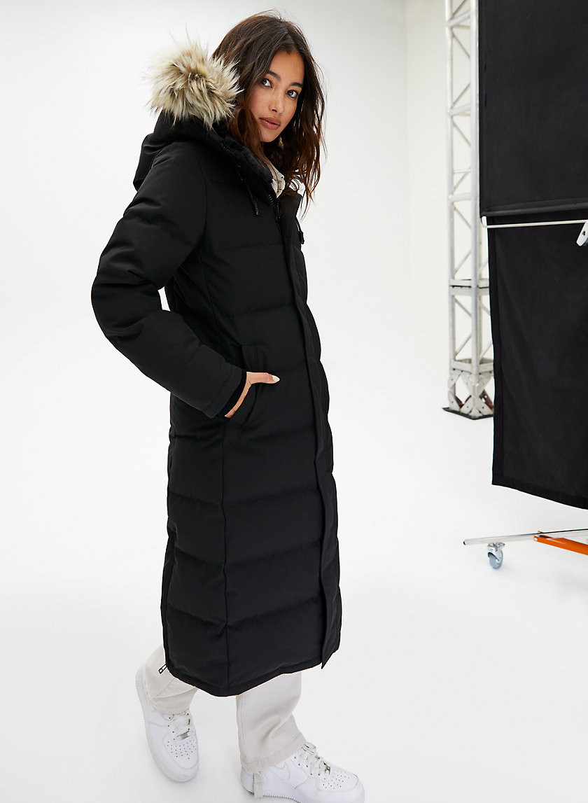 PARKA LONG ST. ANTON - Long quilted down parka