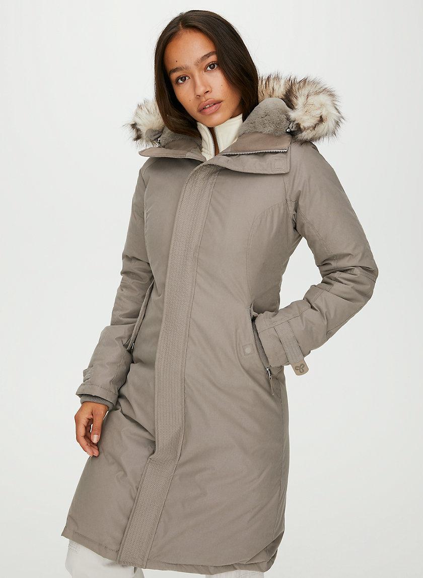 SUMMIT LONG PARKA - Long goose-down parka jacket