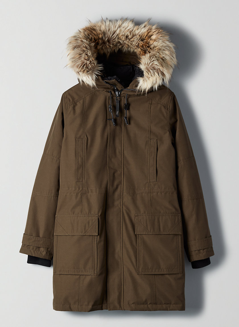 BANCROFT RELAXED PARKA - Relaxed down-filled parka